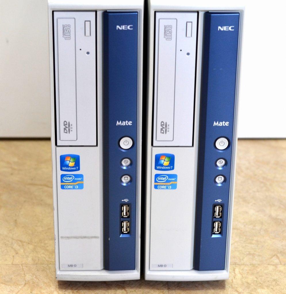 壊れたパソコン買取りました!NEC PC-MK33LBZCD Core i3 Win7 Pro,壊れたパソコン売るなら、ジャンク品パソコン買取ドットコム
