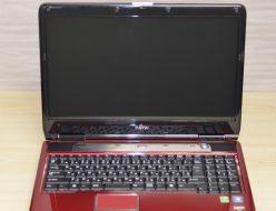 壊れたノートパソコン買取りました!富士通 NF/G40 FMVNFG40RJ Win7 4GB
