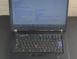 壊れたノートパソコン買取りました!Lenovo ThinkPad T500 Win7 Pro