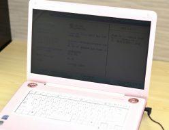 壊れたノートパソコン買取りました!東芝 PATX66HLPPK TX/66HPK