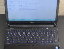 壊れたノートパソコン買取りました!FMV LIFEBOOK AH54G FMVA54GB i5 Win7