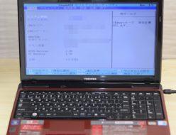 壊れたノートパソコン買取りました!東芝 PT35036ASFRD T350/36ARD Core i5、壊れたパソコン・Macの買取はジャンク品パソコン買取ドットコム