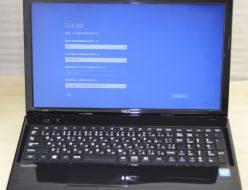 壊れたノートパソコン買取りました!NEC VJ18EFW21SZGSC0,壊れたノートパソコンの買取はジャンク品パソコン買取ドットコム