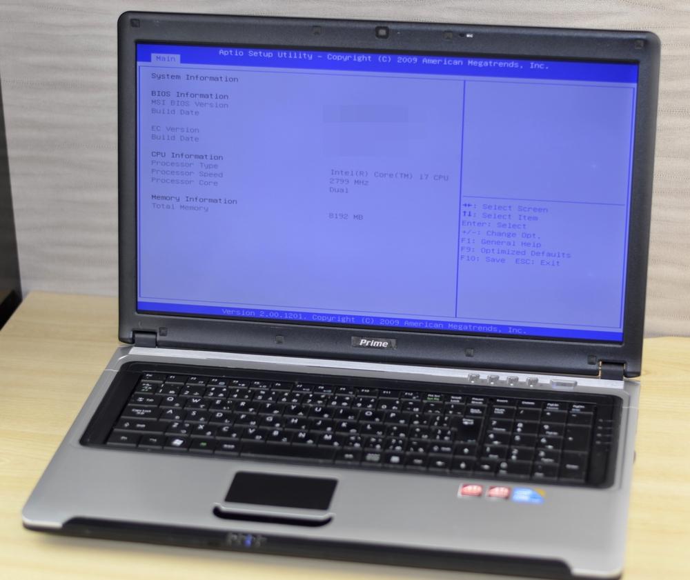 ノートパソコン買取りました!ドスパラ Prime MS-1733 Core i7、中古・壊れたパソコンを高く売るならジャンク品パソコン買取ドットコム