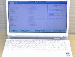 壊れたノートパソコン買取りました!NEC PC-LS150FS6W LS150/F Win7,壊れたノートパソコンの買取はジャンク品パソコン買取ドットコム