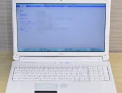 壊れたノートパソコン買取りました!富士通 AH56/C FMVA56CWX Core i5 Win7,中古・壊れたパソコンを高く売るならジャンク品パソコン買取ドットコム