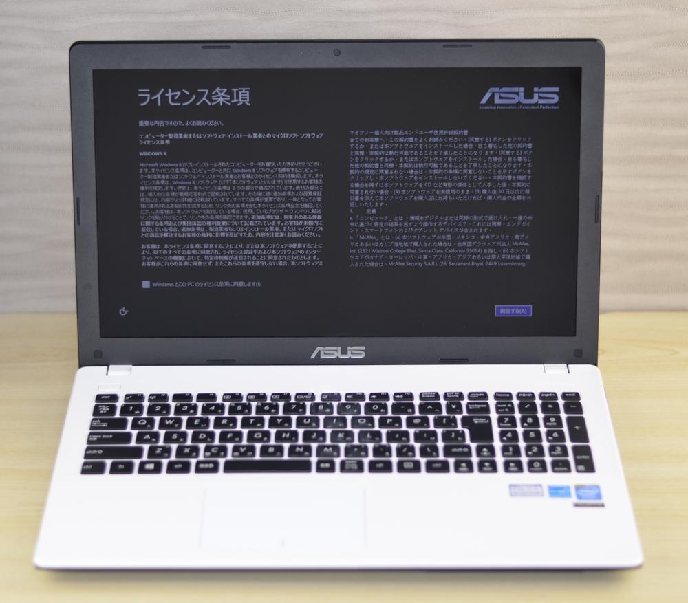 壊れたノートパソコン買取りました!ASUS X551MA X551MA-SX132H Win8,壊れたノートパソコンの買取はジャンク品パソコン買取ドットコム