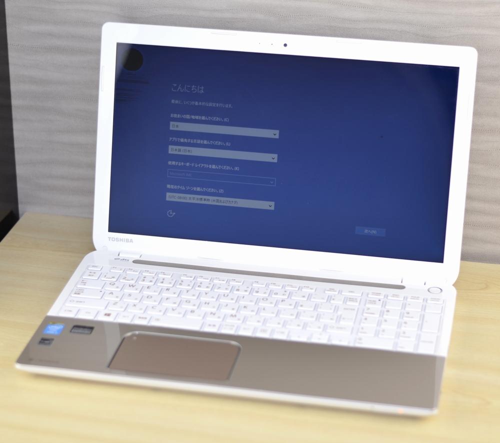 壊れたノートパソコン買取りました!東芝 T554/45LG PT55445LSXG Core i3 office2013,壊れたノートパソコンの買取はジャンク品パソコン買取ドットコム