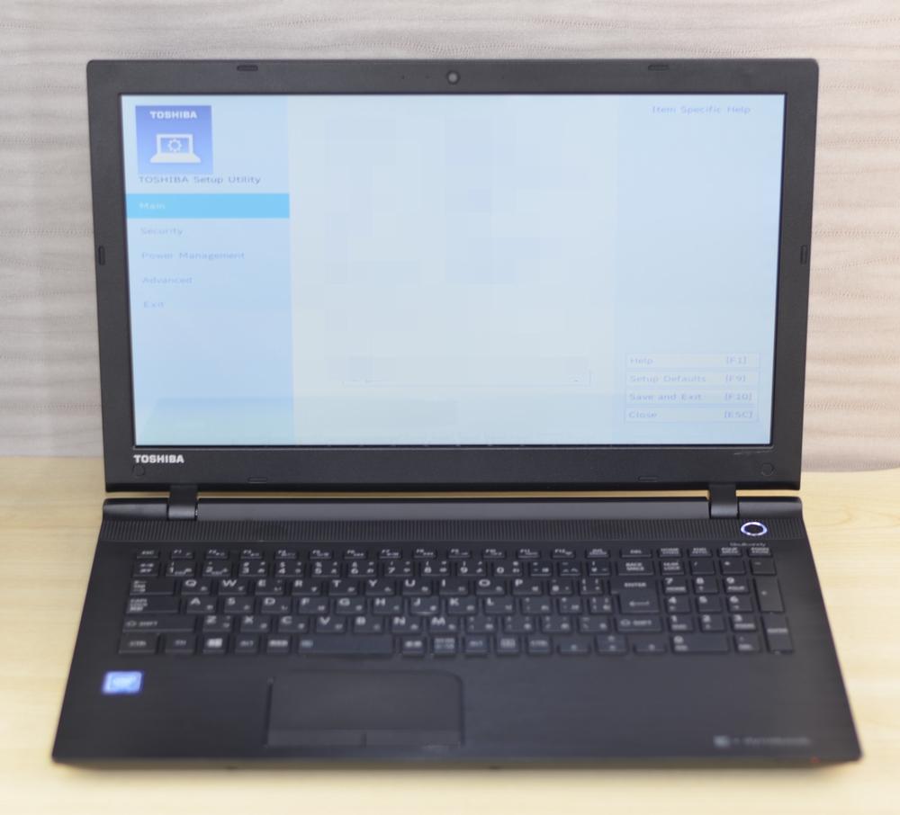 壊れたノートパソコン買取りました!東芝 dynabook AZ15/VB PAZ15VB-SNA 4GB