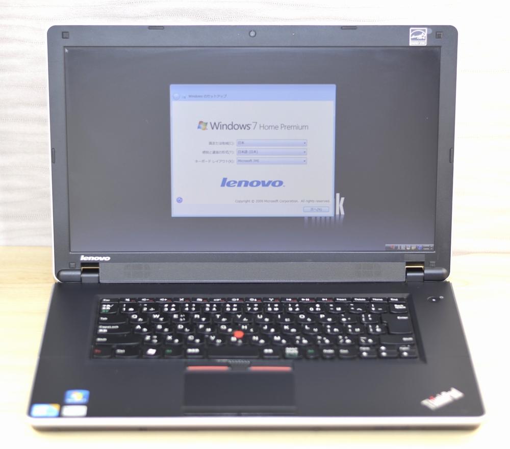 壊れたノートパソコン買取りました!Lenovo ThinkPad Edge15 030197J TYPE 0301-97J Core i3 Win7
