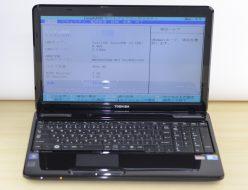 壊れたノートパソコン買取りました!東芝 PT35056ABFB T350/56AB Core i5